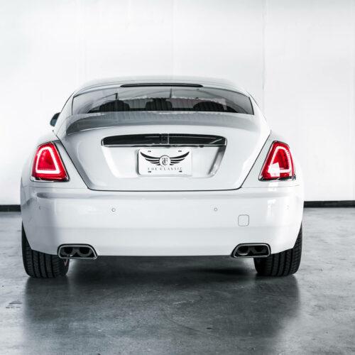 Back Of Rolls Royce Wraith
