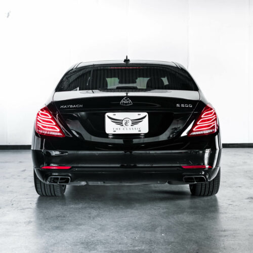 Back Of S600 Maybach For Rent