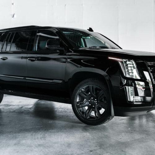 Black Cadillac Escalade Rental
