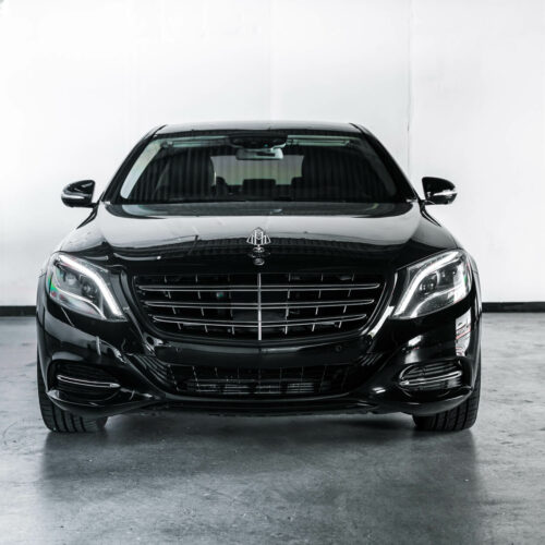 Black Mercedes-Maybach S600 For Rent