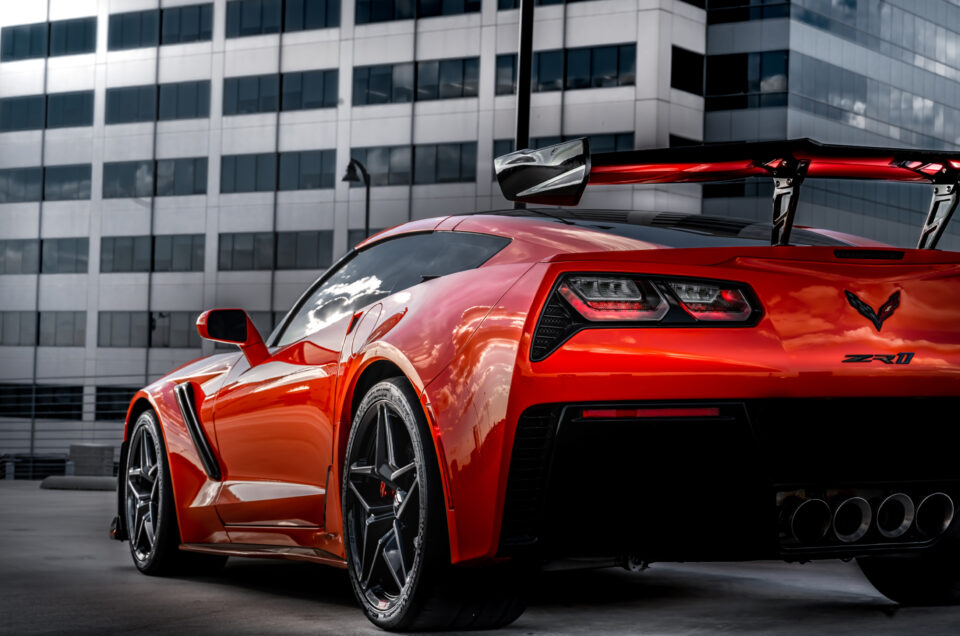 C7 Corvette ZR1 Rear