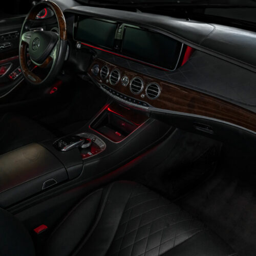 Inside Mercedes-Benz Maybach S600