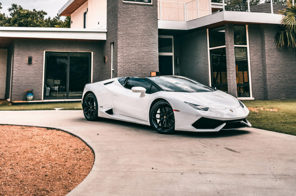 Renting an Exotic Car for a Special Event