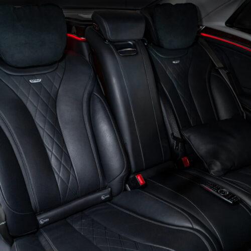 Mercedes-Benz Maybach Rental S600 Rear Seats