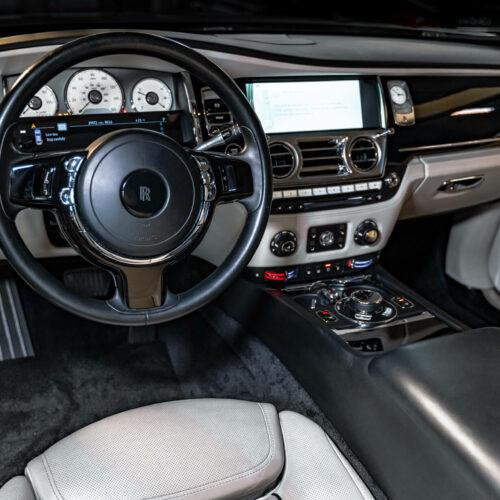 Rolls Royce Ghost Interior Exotic Rentals
