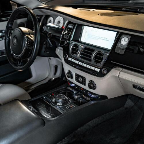 Rolls Royce Ghost Interior Luxury Rental