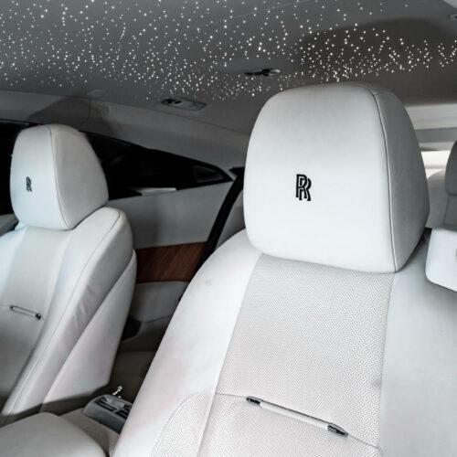 Rolls Royce Wraith Seats Exotic Car Rentals