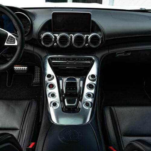 White AMG GTS Full Interior