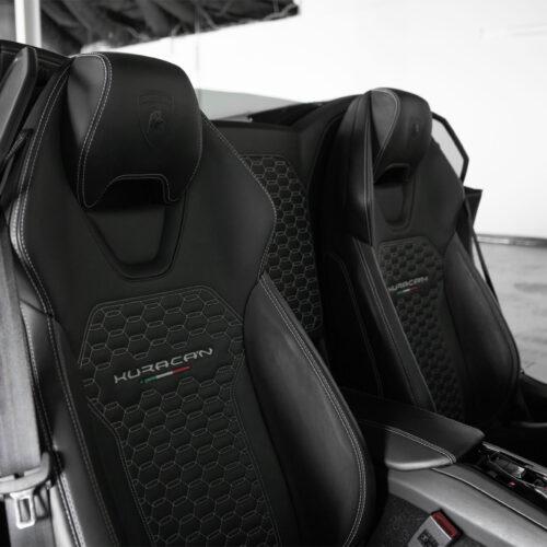 Exotic Car Rental - Lamborghini Huracan Seats