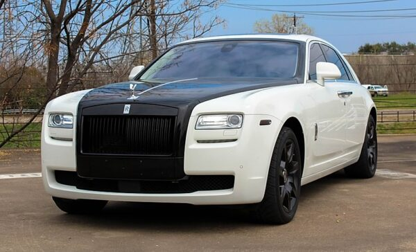 Rolls Royce Ghost - Chauffeur Services